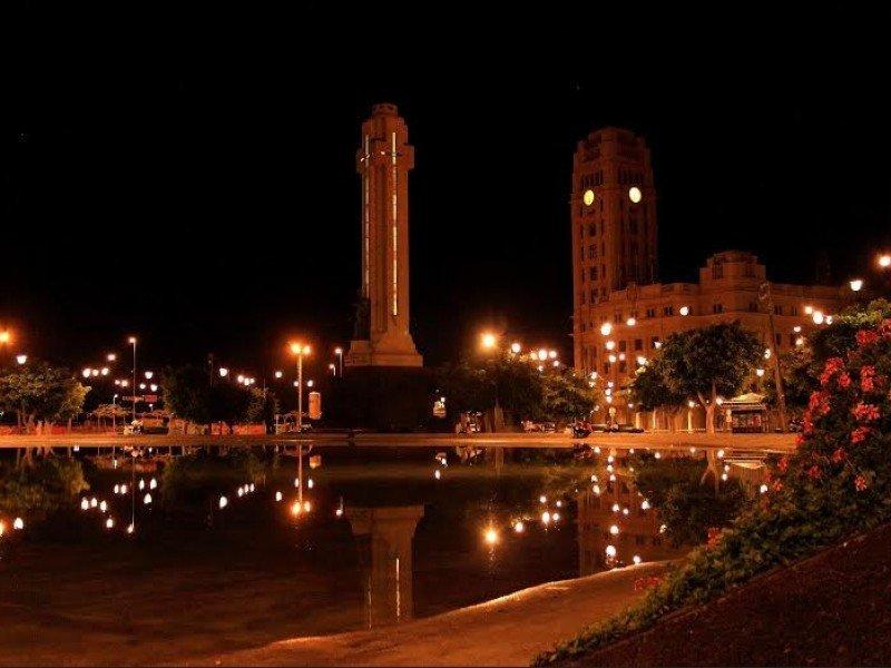 Santa Cruz de Tenerife Nueva iluminación de la plaza de España