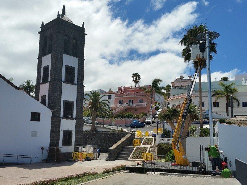 El Sauzal Alumbrado público e instalaciones eléctricas de dependencias municipales, fiestas y actos culturales